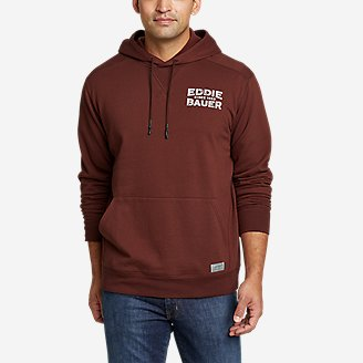 Thumbnail View 1 - Men's Camp Fleece Pullover Hoodie - Graphic