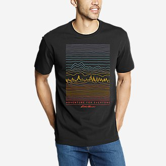 Thumbnail View 1 - Men's Graphic T-Shirt - Adventure For Everyone