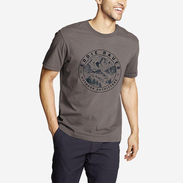 Men's Graphic T-Shirt - Circle Topo large version