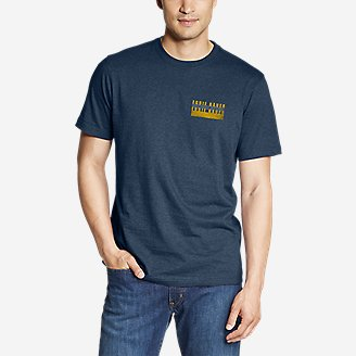 Thumbnail View 1 - Men's Graphic T-Shirt - Outdoor Layers