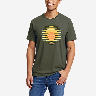 Thumbnail View 1 - Men's Graphic T-Shirt - Setting Sun