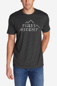 Men's Graphic T-Shirt - First Ascent Cubism