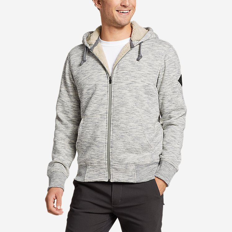 Men's Cascade Falls Sherpa-Lined Hoodie large version