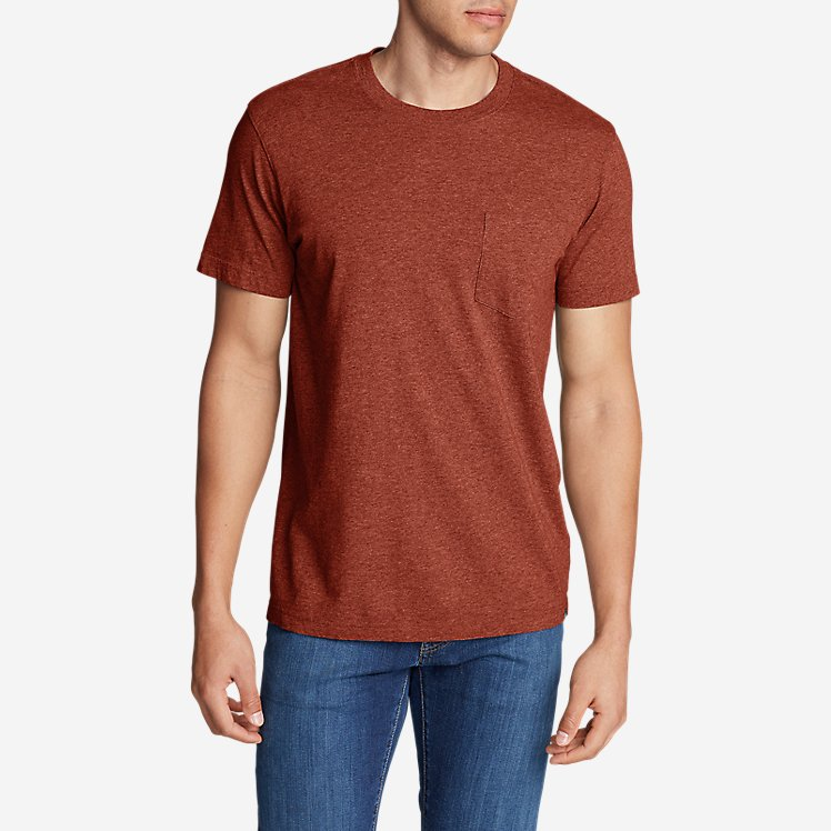 Men's Legend Wash Short-Sleeve Pocket T-Shirt - Classic Fit large version
