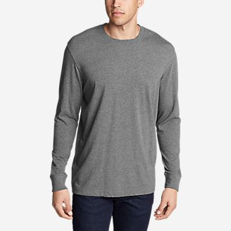 Thumbnail View 1 - Men's Legend Wash Long-Sleeve T-Shirt - Classic Fit