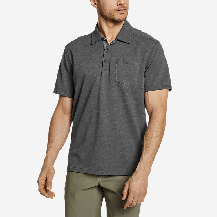 Men's En Route Short-Sleeve Polo Shirt large version