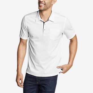 Thumbnail View 1 - Men's En Route Short-Sleeve Polo Shirt