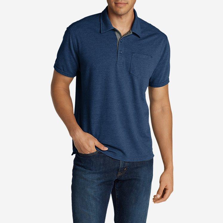 Men's En Route Short-Sleeve Polo Shirt large version