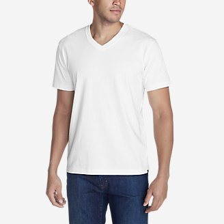 Thumbnail View 1 - Men's Legend Wash Short-Sleeve V-Neck T-Shirt - Classic Fit