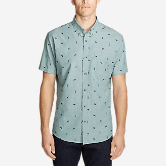 Thumbnail View 1 - Men's Grifton Short-Sleeve Shirt - Print