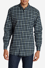 Men's Classic Signature Twill Long-Sleeve Shirt - Pattern