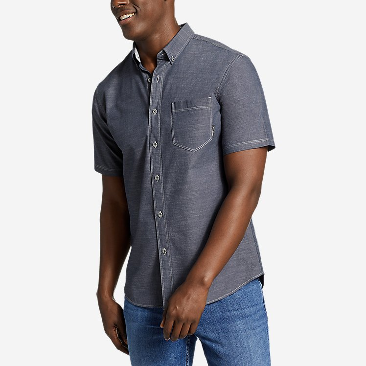 Men's Grifton Short-Sleeve Shirt - Solid large version