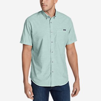 Thumbnail View 1 - Men's Grifton Short-Sleeve Shirt - Solid