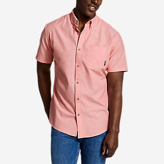 Thumbnail View 1 - Men's Grifton Short-Sleeve Shirt - Solid