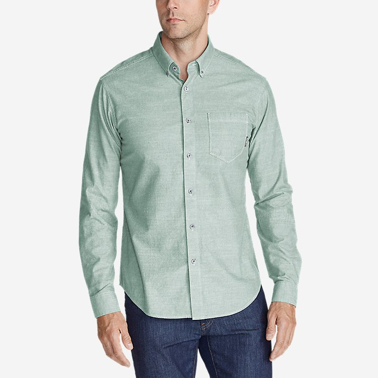 Men's Grifton Long-Sleeve Shirt - Solid large version