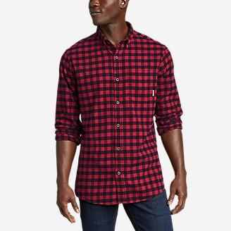 Thumbnail View 1 - Men's Eddie's Favorite Flannel Classic Fit Shirt - Plaid
