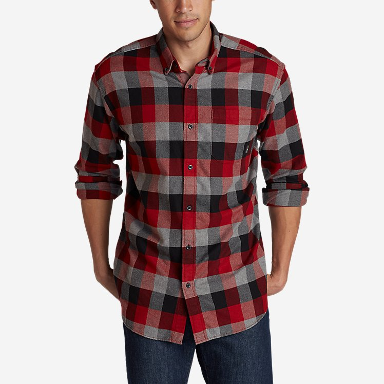 Men's Eddie's Favorite Flannel Classic Fit Shirt - Plaid large version