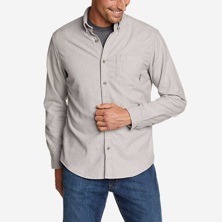 Men's Eddie's Favorite Flannel Classic Fit Shirt - Solid large version