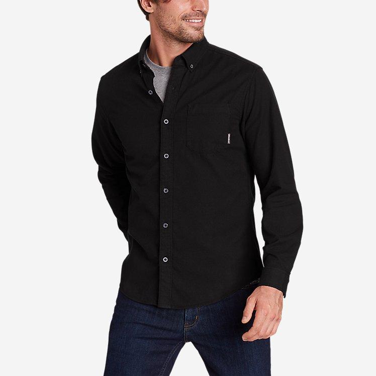 Men's Eddie's Favorite Flannel Classic Fit Shirt - Solid large version