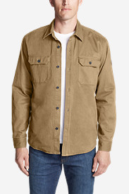 Men's Legend Wash Flannel-Lined Shirt Jacket