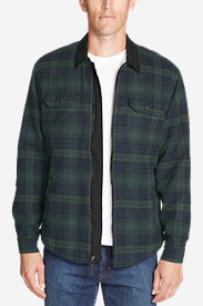 Men's Eddie's Favorite Flannel Sherpa-Lined Shirt Jacket