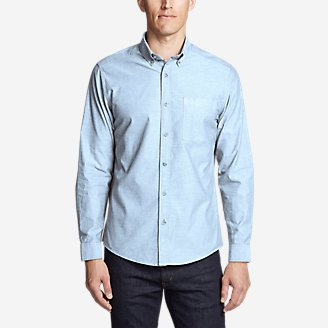 Thumbnail View 1 - Men's Ultimate Travel Oxford Shirt