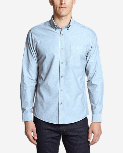 Men's Ultimate Travel Oxford Shirt by Eddie Bauer