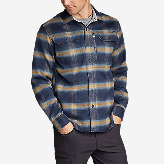 Thumbnail View 1 - Men's Chopper Heavyweight Flannel Shirt