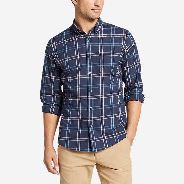 Men's On The Go Flex Twill Long-Sleeve Shirt large version