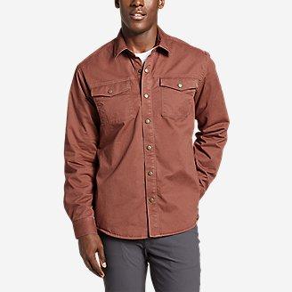 Thumbnail View 1 - Men's Legend Wash Flex Fleece-Lined Shirt Jacket