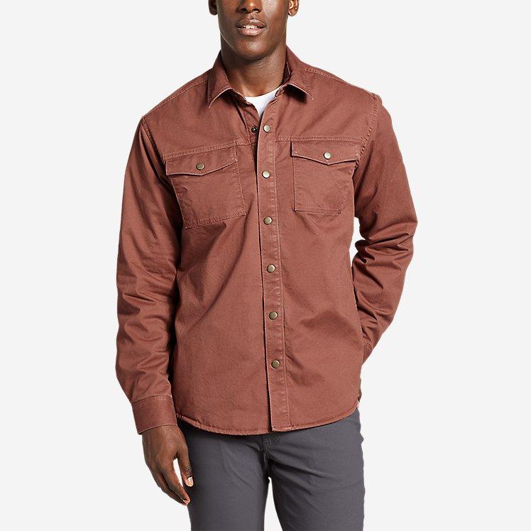 Men's Legend Wash Flex Fleece-Lined Shirt Jacket large version