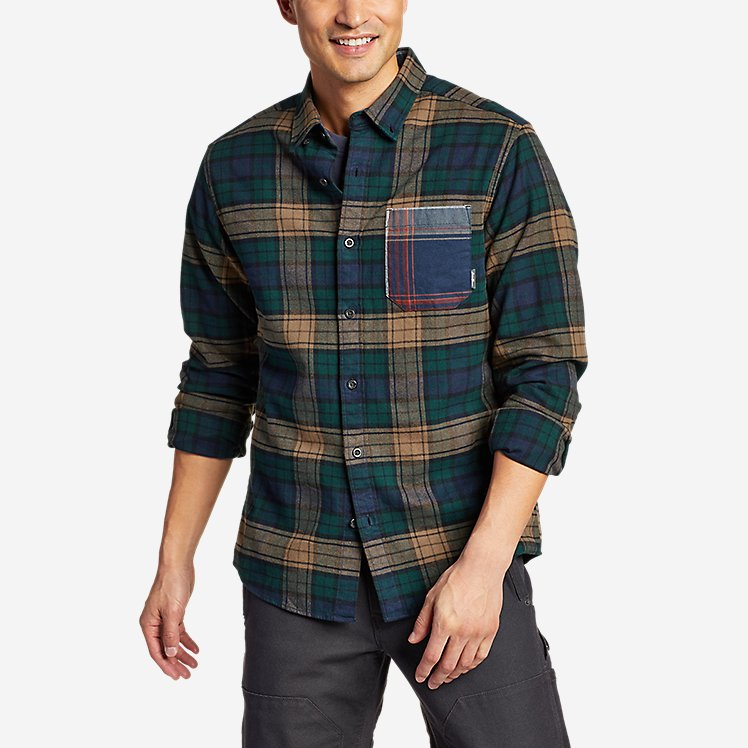 Men's Eddie's Favorite Flannel Mixed Media Shirt large version