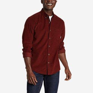 Thumbnail View 1 - Men's Long-Sleeve Corduroy Shirt