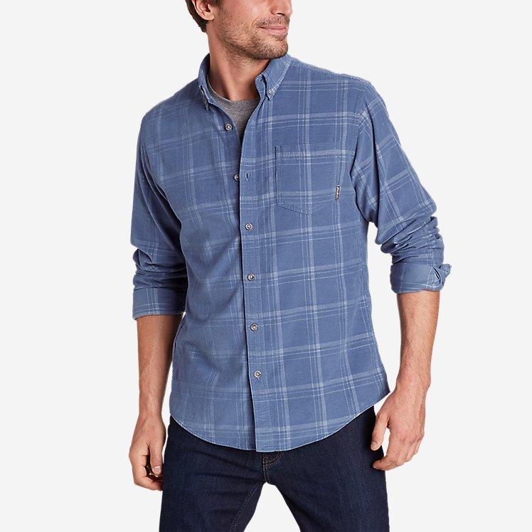 Men's Long-Sleeve Corduroy Shirt large version