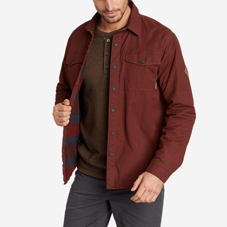 Men's Voyager Fleece-Lined Shirt Jacket large version