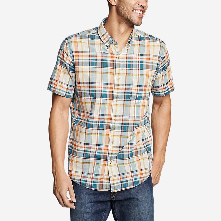 Men's Baja Short-Sleeve Shirt - Print large version