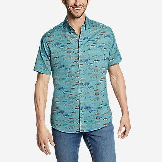 Thumbnail View 1 - Men's Baja Short-Sleeve Shirt - Print