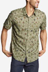 Men's Baja Short-Sleeve Shirt - Print