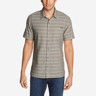Thumbnail View 1 - Men's Larrabee Short-Sleeve Shirt - Print
