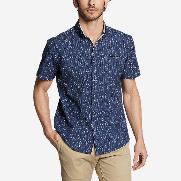 Men's Bainbridge Short-Sleeve Seersucker Shirt large version