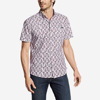 Thumbnail View 1 - Men's Bainbridge Short-Sleeve Seersucker Shirt