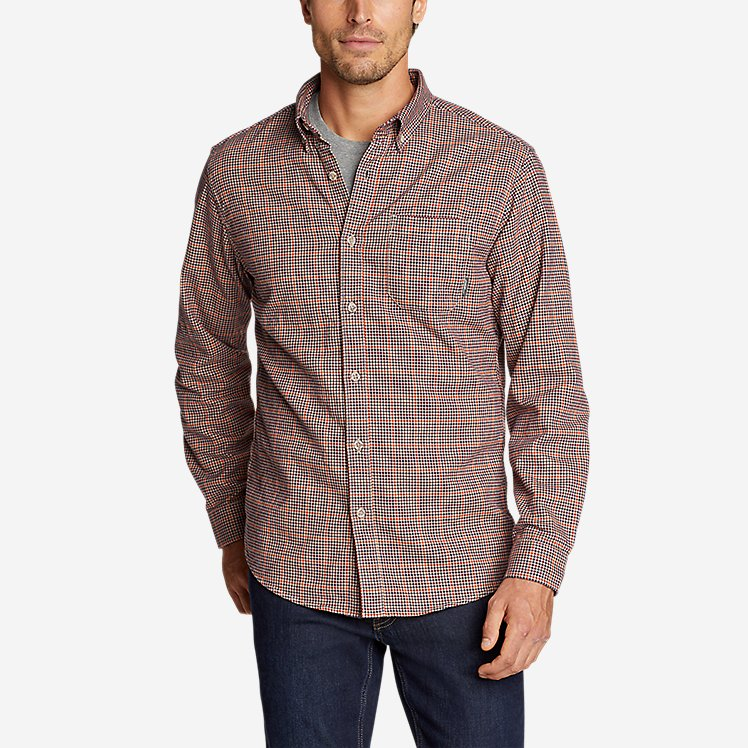 Men's Eddie's Favorite Flannel Relaxed Fit Shirt - Plaid large version