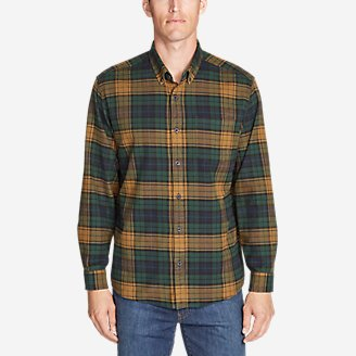 Thumbnail View 1 - Men's Eddie's Favorite Flannel Relaxed Fit Shirt - Plaid