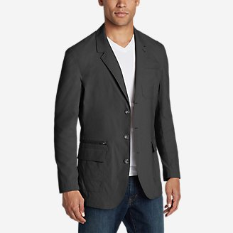 Eddie Bauer Mens Voyager 2.0 Packable Travel Blazer