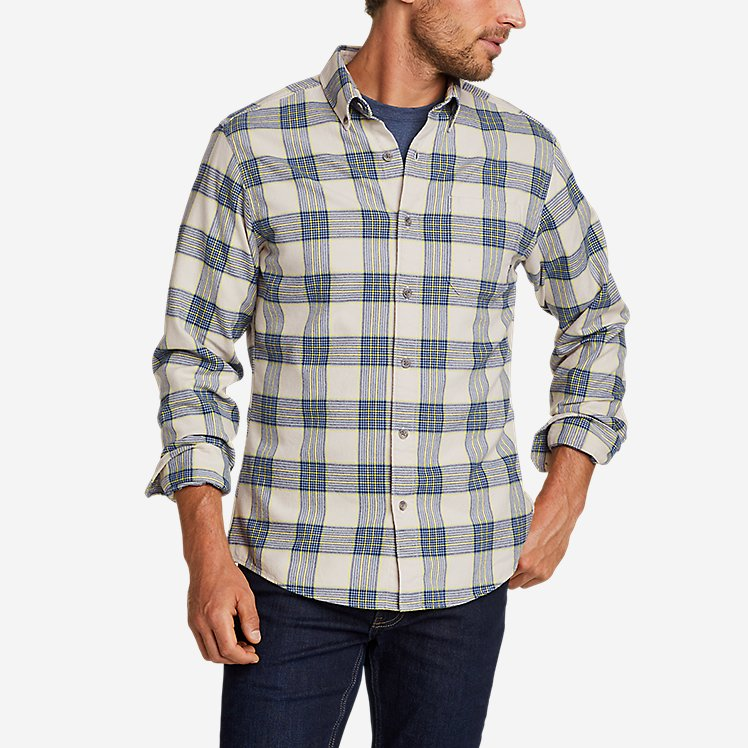 Men's Eddie's Favorite Flannel Shirt - Slim large version