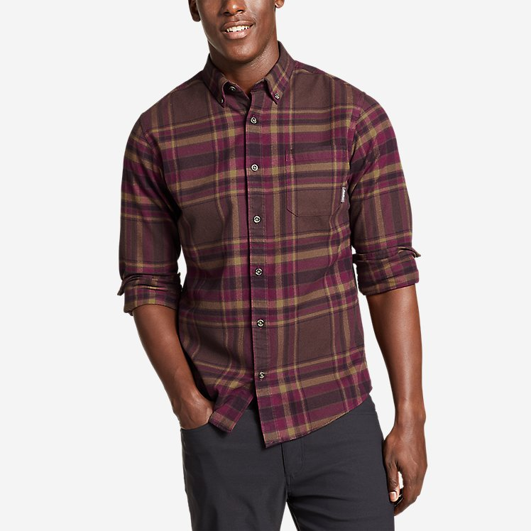 Men's Eddie's Favorite Flannel Slim Fit Shirt large version