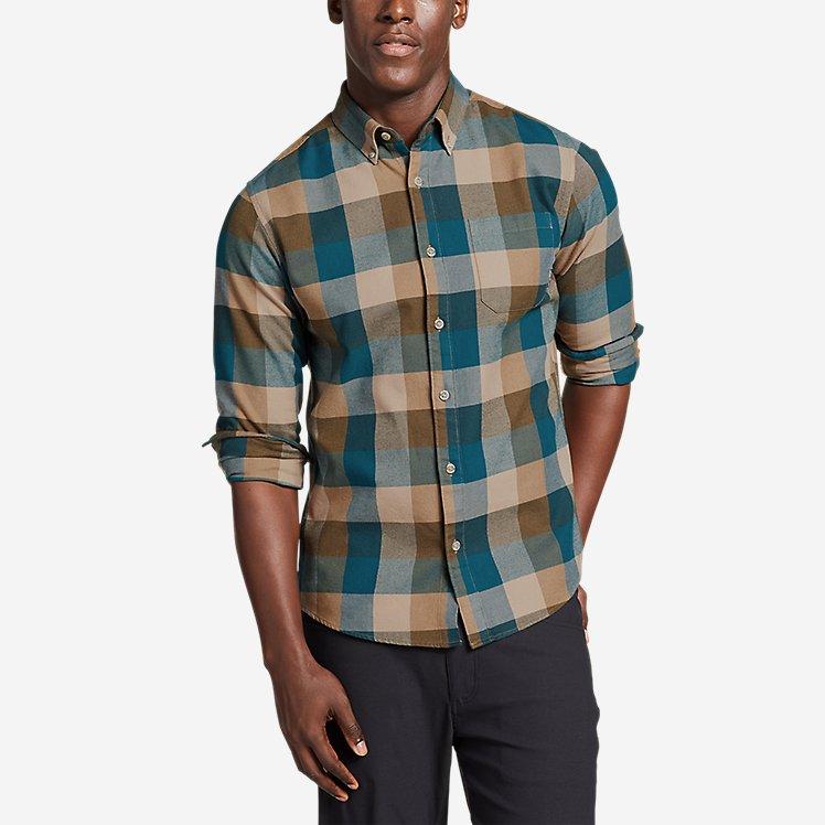 Men's Eddie's Favorite Flannel Slim Fit Shirt large version