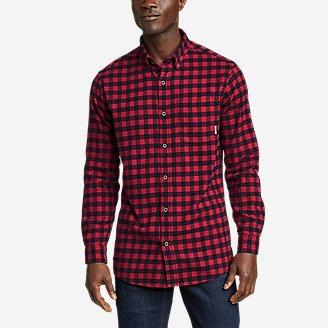 Thumbnail View 1 - Men's Eddie's Favorite Flannel Shirt - Slim