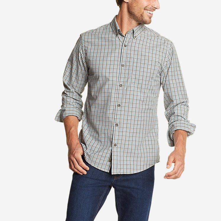Men's On The Go Long-Sleeve Poplin Shirt large version