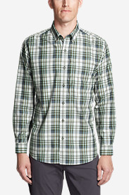 Men's On The Go Long-Sleeve Poplin Shirt